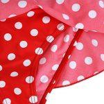 TiaoBug Enfant Fille Maillot de Bain Une Pièce Maillot à Pois Tankini Bretelle Combinaison Tutu Justaucorps de Danse Gym Sport avec Bandeau Vêtement de Natation Plage Bikini 3-8 Ans de la marque Tiaobug image 4 produit