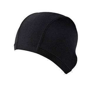 TININNA Bonnets de Bain en Tissu Couleur Unie Cap de Natation Bonnet Pour Femmes Homme de la marque image 0 produit
