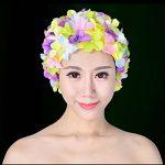 WINOMO Bonnet de bain Floral chapeau de bain pour femmes (coloré) de la marque image 1 produit