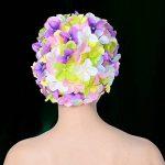 WINOMO Bonnet de bain Floral chapeau de bain pour femmes (coloré) de la marque image 3 produit