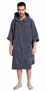 Winthome Surfing Changement serviette Robe avec capuche (grey, 108cm) de la marque Winthome image 0 produit