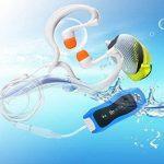 Y&MTM Lecteur MP3 étanche IPX8 avec radio FM 8Go de la marque image 4 produit