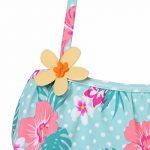 YiZYiF Fille Maillot de bain Floral Imprimé 2 Pièces Plage Bikini Pour Enfants Costume De Natation Bretelle Plage D'été Tankini Swimsuit 1-10 Ans de la marque YiZYiF image 4 produit