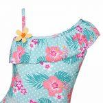 YiZYiF Fille Maillot de bain Floral Imprimé 2 Pièces Plage Bikini Pour Enfants Costume De Natation Bretelle Plage D'été Tankini Swimsuit 1-10 Ans de la marque YiZYiF image 5 produit