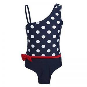 YiZYiF Maillots de bain 1 Pièce Léotard à Pois Noeud Enfant Fille Bébé 1-7 Ans de la marque YiZYiF image 0 produit