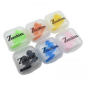 Zooshine 6sets de piscine pour enfant Bouchons d'oreille oreille Kits de protection avec paquet de boîte de la marque image 0 produit